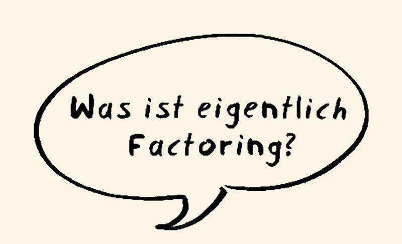 Video, das die Funktionsweise von Factoring erklärt